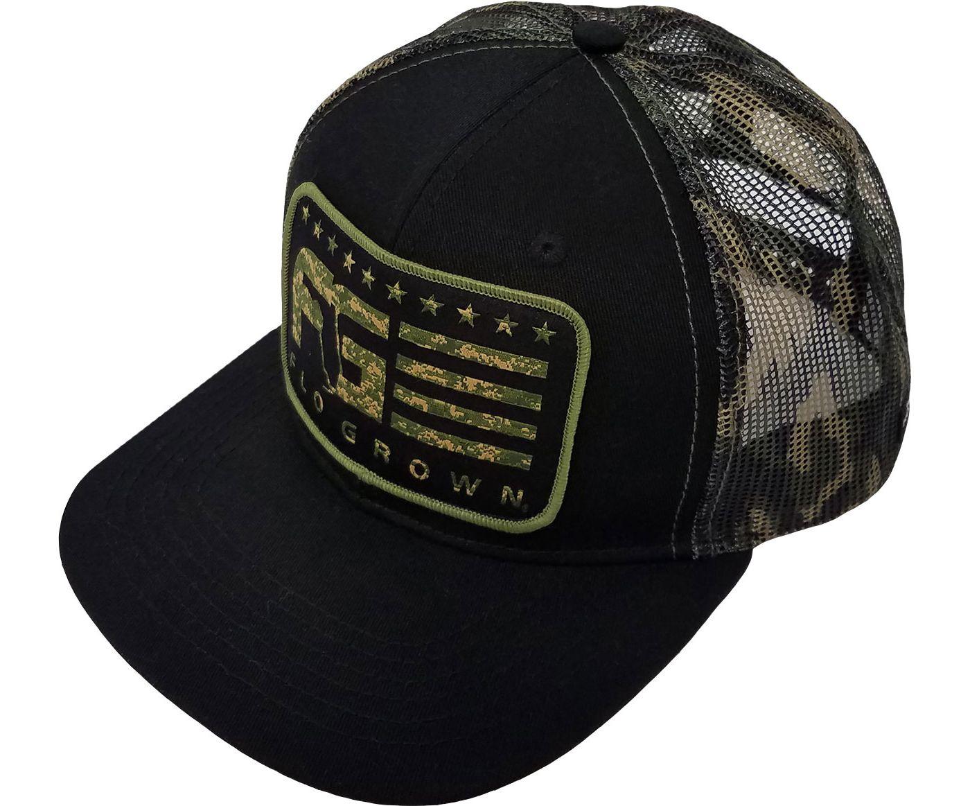 FloGrown Men's Camo Stripes Snapback Hat
