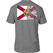 FloGrown Men's Flag Cutout Short Sleeve T-Shirt