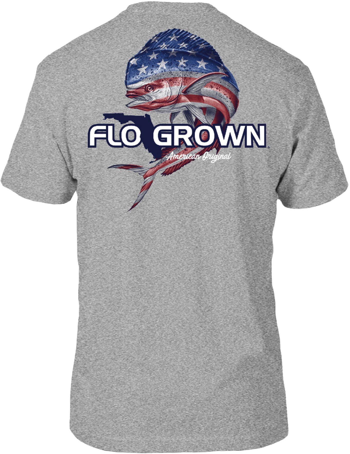 FloGrown Men's Mahi USA Short Sleeve T-Shirt