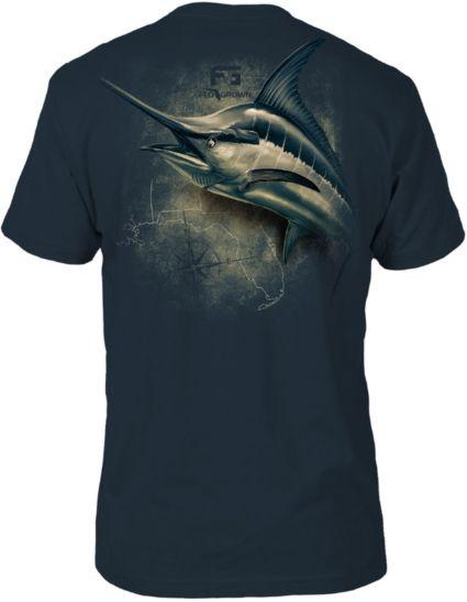 FloGrown Men's Marlin 3D Short Sleeve T-Shirt