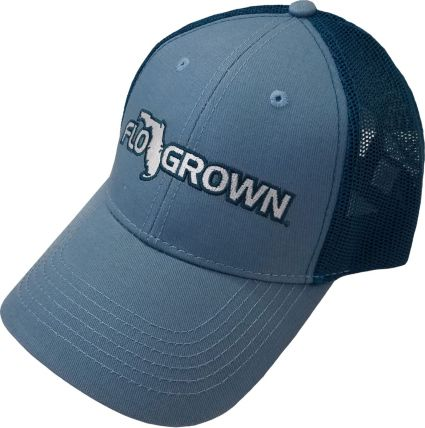 FloGrown Men s Authentic Logo Trucker Hat. noImageFound 4c360cd0121
