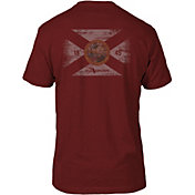 FloGrown Men's Washed Flag Short Sleeve T-Shirt