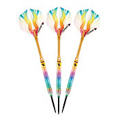 Elkadart Rainbow Titanium-Coated Steel Tip Darts