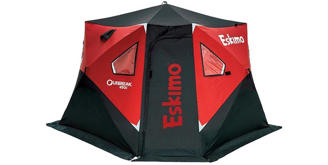 Eskimo Outbreak 450i 5-Person Pop-Up Ice Fishing Shelter