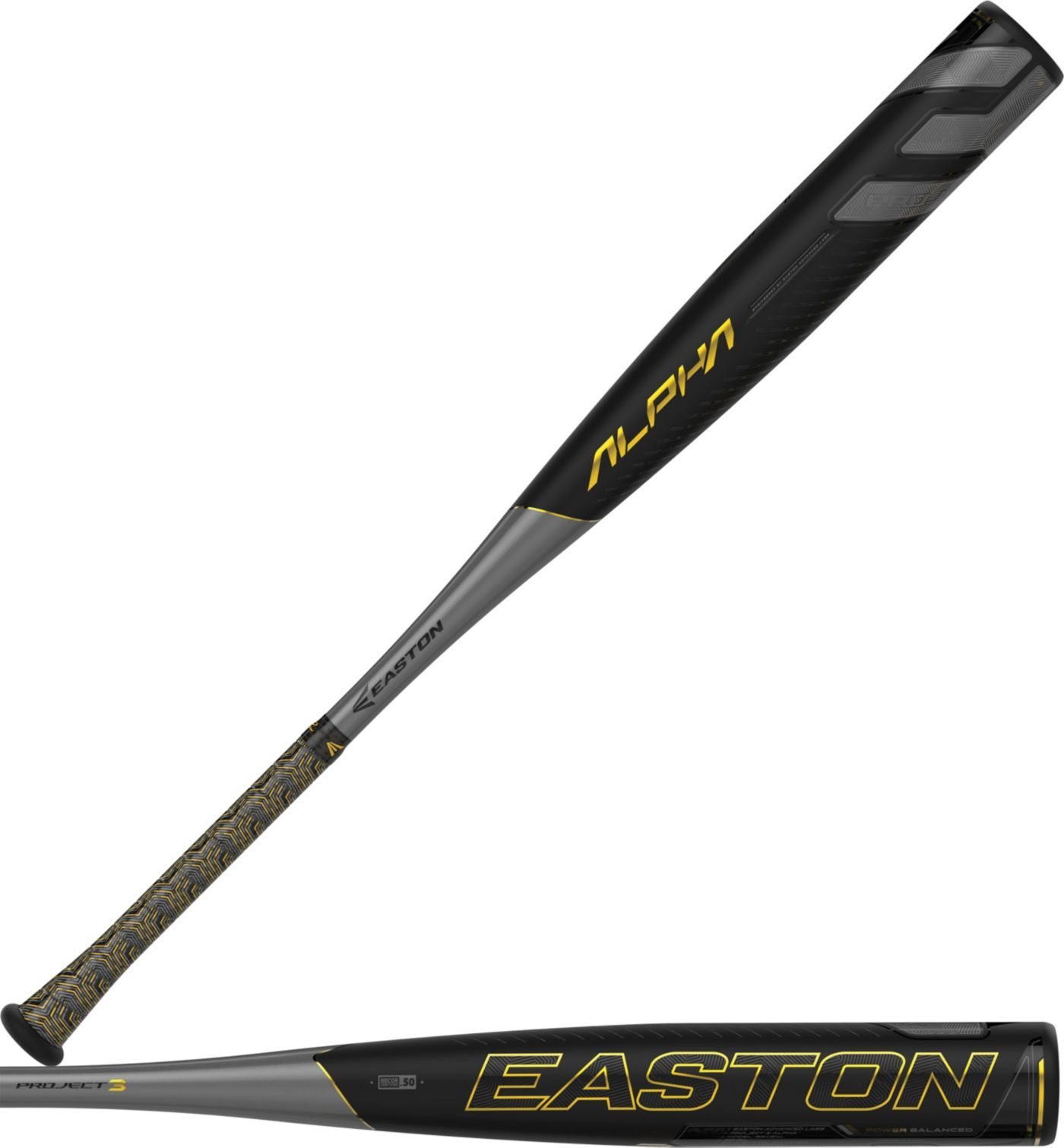 Easton Project 3 Alpha BBCOR Bat 2019 (-3)