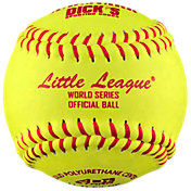A.D. Starr 11'' Little League World Series Spirit Optic Leather Softballs – 12 Pack