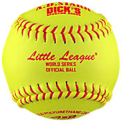 A.D. Starr 12'' Little League World Series Spirit Optic Leather Softballs – 12 Pack