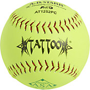 A.D. Starr 12'' ASA Tattoo Synthetic Leather Softballs – 12 Pack