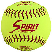 A.D. Starr 11'' ASA Spirit Optic Leather Softballs – 12 Pack