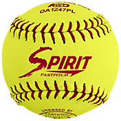 A.D. Starr 12'' ASA Spirit Optic Leather Softballs – 12 Pack