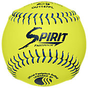 A.D. Starr 11'' USSSA Spirit Optic Leather Softballs – 12 Pack