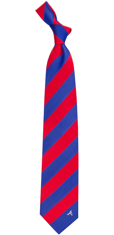 Eagles Wings Atlanta Braves Woven Silk Necktie