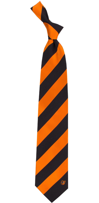 Eagles Wings Baltimore Orioles Woven Silk Necktie