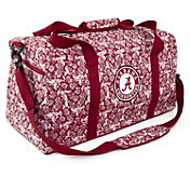 Eagles Wings Alabama Crimson Tide Quilted Cotton Large Duffle Bag