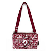 Eagles Wings Alabama Crimson Tide Quilted Cotton Cross Body Purse