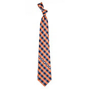 Eagles Wings Auburn Tigers Check Necktie