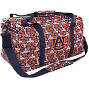Eagles Wings Auburn Tigers Quilted Cotton Large Duffle Bag