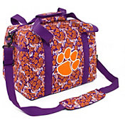 Eagles Wings Clemson Tigers Quilted Cotton Mini Duffle Bag