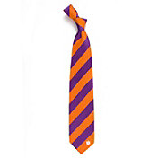 Eagles Wings Clemson Tigers Woven Silk Necktie