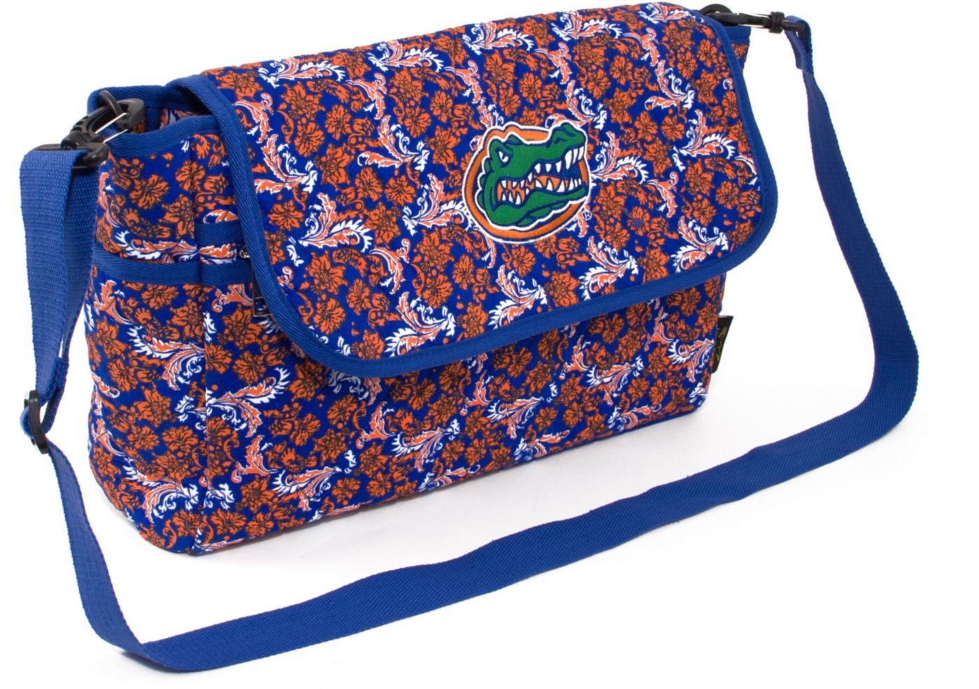 Eagles Wings Florida Gators Quilted Cotton Messenger Bag