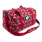 Eagles Wings Georgia Bulldogs Quilted Cotton Large Duffle Bag