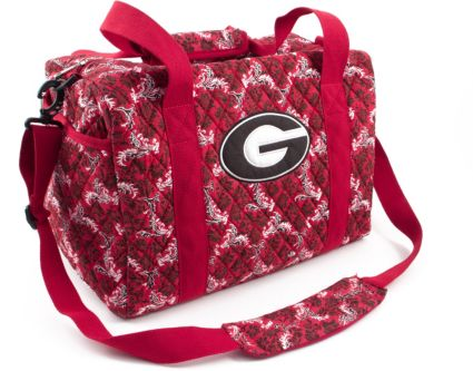 c200f3a87af Eagles Wings Georgia Bulldogs Quilted Cotton Mini Duffle Bag. noImageFound