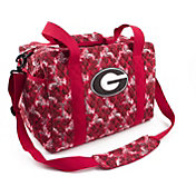 Eagles Wings Georgia Bulldogs Quilted Cotton Mini Duffle Bag