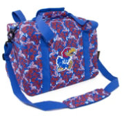 Eagles Wings Kansas Jayhawks Quilted Cotton Mini Duffle Bag