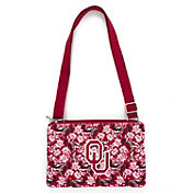 Eagles Wings Oklahoma Sooners Quilted Cotton Cross Body Purse
