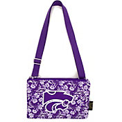 Eagles Wings Kansas State Wildcats Quilted Cotton Cross Body Purse
