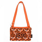 Eagles Wings Oklahoma State Buckeyes Quilted Cotton Cross Body Purse