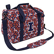 Eagles Wings Illinois Fighting Illini Quilted Cotton Mini Duffle Bag