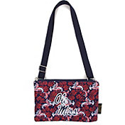 Eagles Wings Ole Miss Rebels Quilted Cotton Cross Body Purse