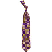 Eagles Wings LSU Tigers Print Silk Necktie