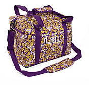 Eagles Wings LSU Tigers Quilted Cotton Mini Duffle Bag