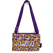Eagles Wings LSU Tigers Quilted Cotton Cross Body Purse