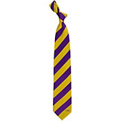 Eagles Wings LSU Tigers Woven Silk Necktie