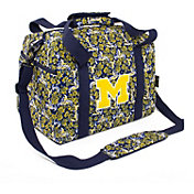 Eagles Wings Michigan Wolverines Quilted Cotton Mini Duffle Bag