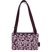Eagles Wings Mississippi State Bulldogs Quilted Cotton Cross Body Purse