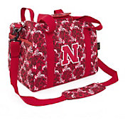 Eagles Wings Nebraska Cornhuskers Quilted Cotton Mini Duffle Bag