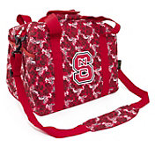 Eagles Wings NC State Wolfpack Quilted Cotton Mini Duffle Bag