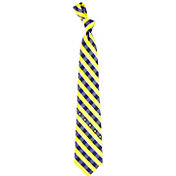 Eagles Wings Navy Midshipmen Check Necktie