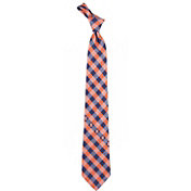 Eagles Wings Syracuse Orange Check Necktie