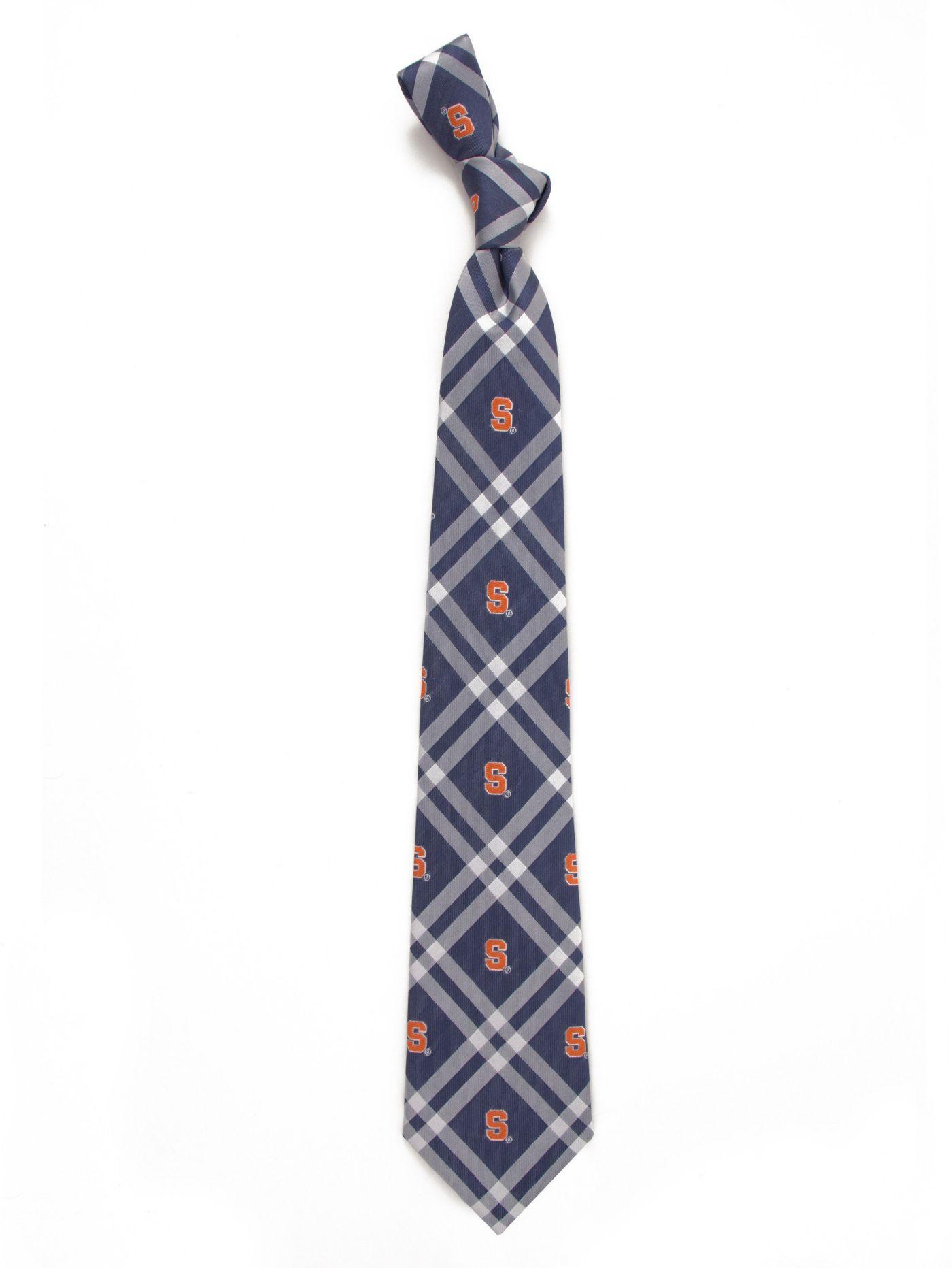 Eagles Wings Syracuse Orange Woven Polyester Necktie