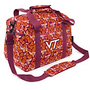 Eagles Wings Virginia Tech Hokies Quilted Cotton Mini Duffle Bag