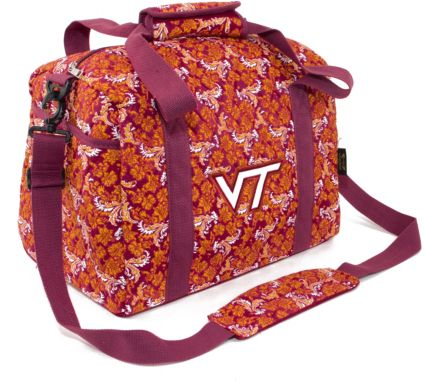 Eagles Wings Virginia Tech Hokies Quilted Cotton Mini Duffle Bag