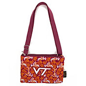 Eagles Wings Virginia Tech Hokies Quilted Cotton Cross Body Purse