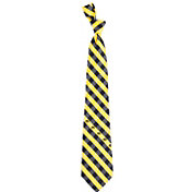Eagles Wings Iowa Hawkeyes Check Necktie