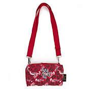 Eagles Wings Wisconsin Badgers Quilted Cotton Cross Body Wallet