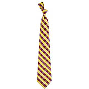 Eagles Wings Iowa State Cyclones Check Necktie